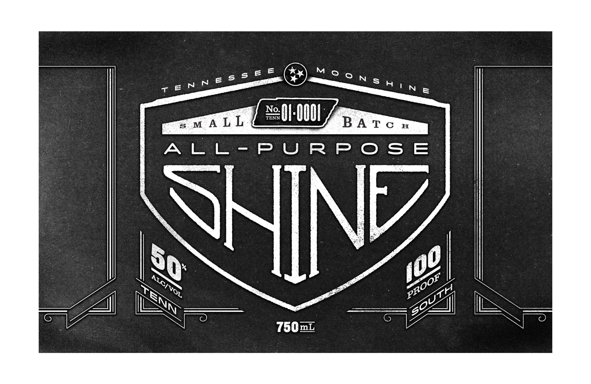 All-Purpose-Shine-1944-TN-License-Plate